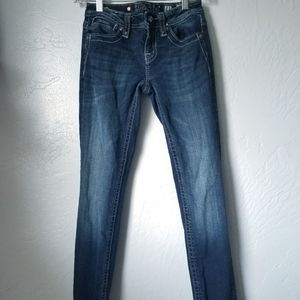 Miss Me | Girls Thick Stitch Skinny Jean's 722652